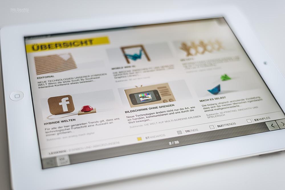 Trendexplorer - iPad-App