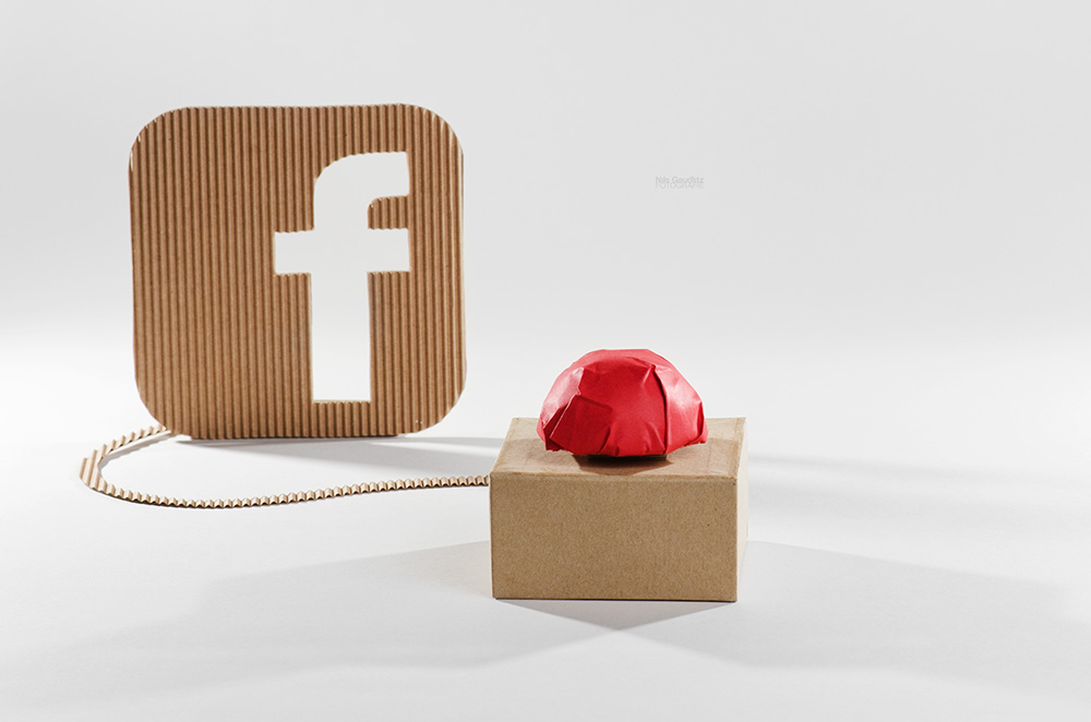 Facebook-Button analog