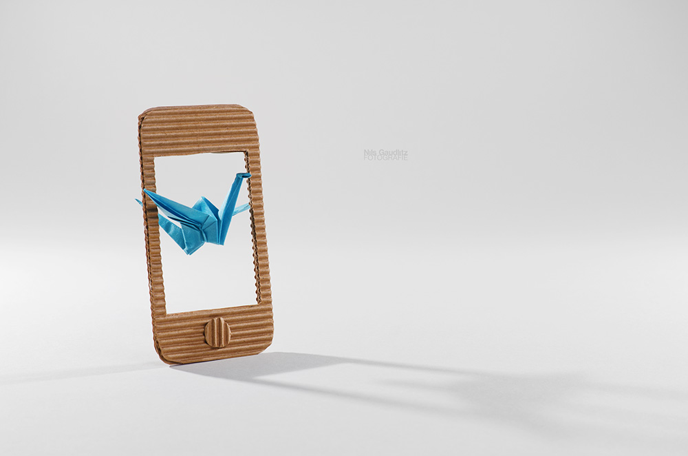 Origami trifft iPhone