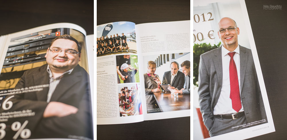 Adlershorst Geschäftsbericht Foto: Nils Gaudlitz