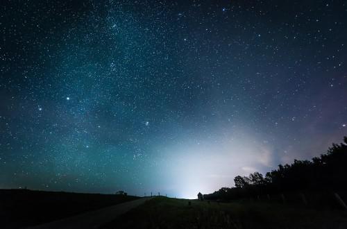 Sternenhimmel an der Ostsee