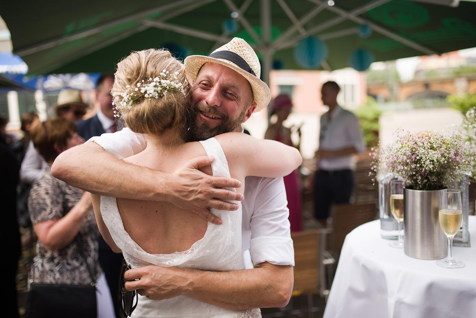 Hochzeit in den Deichtorhallen