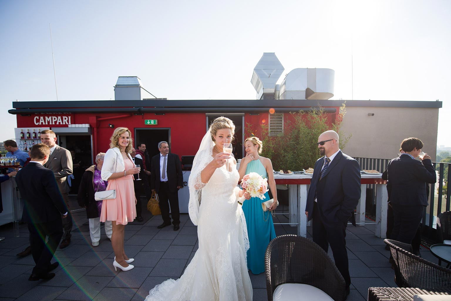 Hochzeit in der Alsterlounge