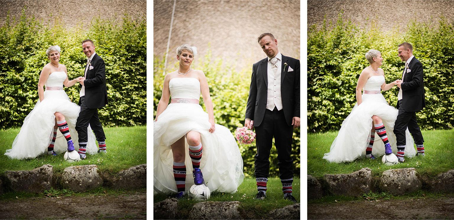 Hochzeitsfotos auf Schloss Agathenburg